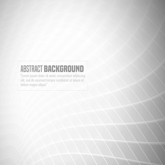 Grey wavy line abstract background