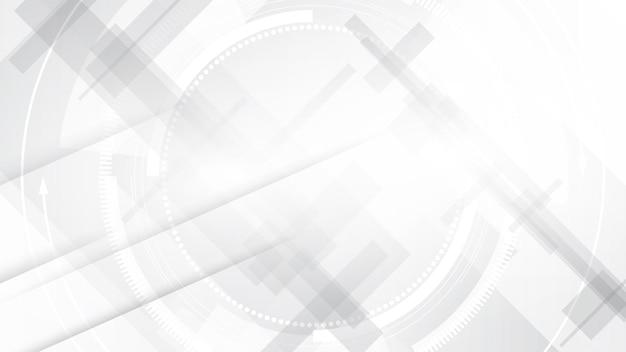 灰色の白い抽象的な背景モダンなデザインのコピースペース