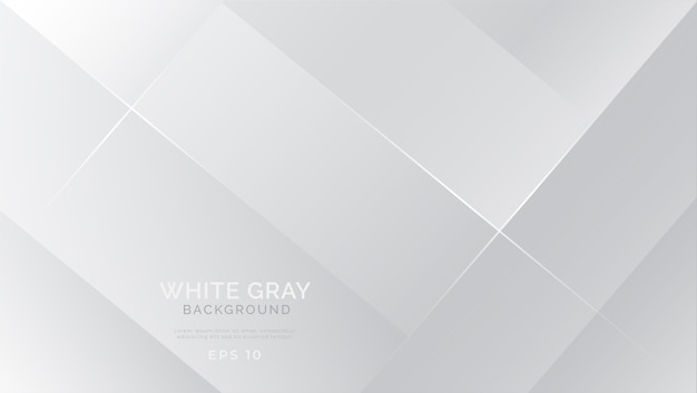 Grey white abstract background modern
