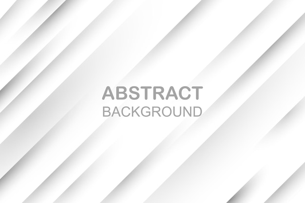 Grey white abstract background paper shine and layer element