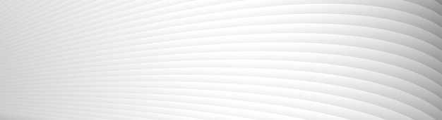 Grey white waves lines pattern background