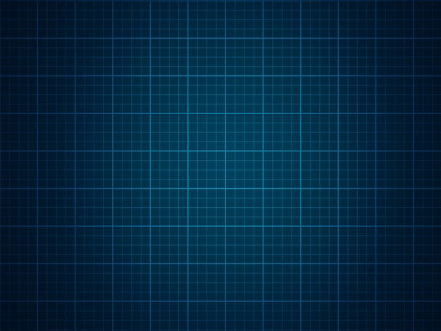 Grid on a blue background.