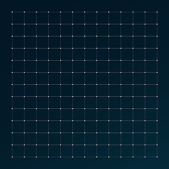 Grid for futuristic hud interface.