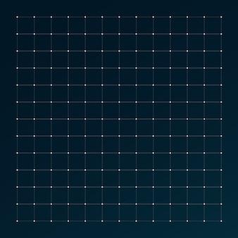 Grid for futuristic hud interface.