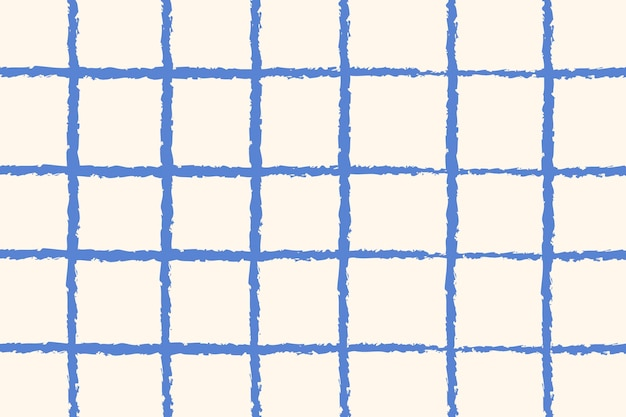 Сетка узор фона синий каракули вектор, простой дизайн