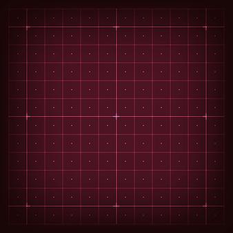 Grid for virtual futuristic interface hud