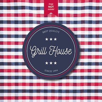 Grill House Logo design