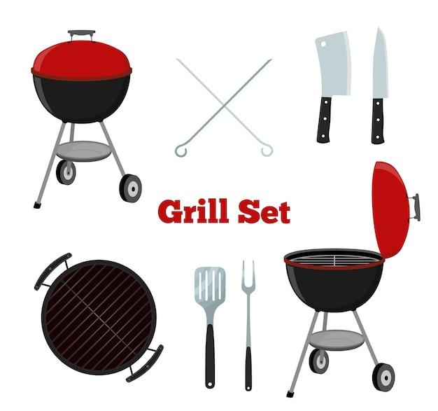 Grill set