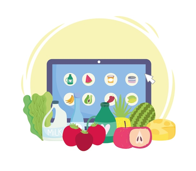 식료품 온라인 제품