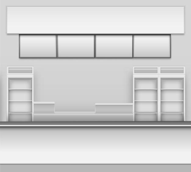 Продуктовый магазин бар кафе пивная кафетерий фаст-фуд счетчик стол интерьер внешний вид витрина