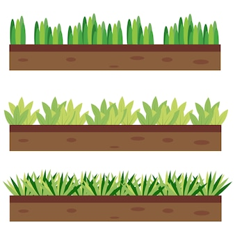 Ground and grass border pack