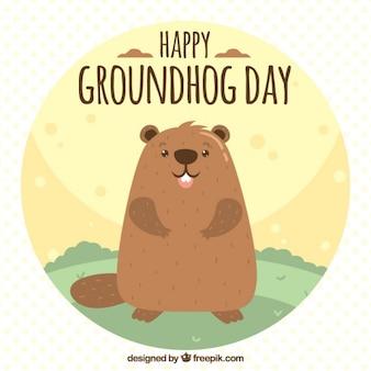 Grounghog день иллюстрация