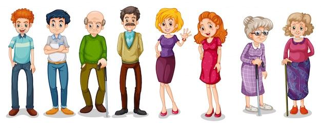 Un gruppo di adulti