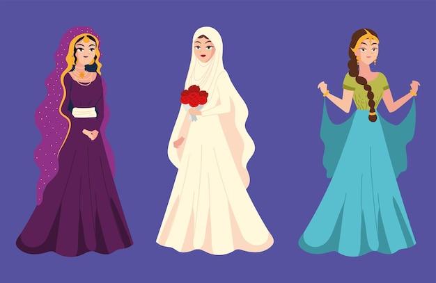 グループアラビアの花嫁