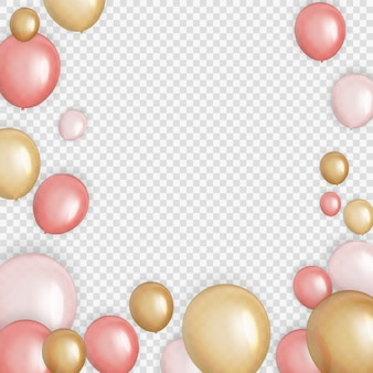 Group of colour glossy helium balloons background. set of  balloons for birthday, anniversary, celebration  party decorations.