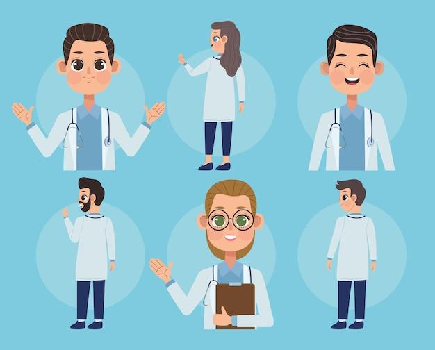 医師のグループ