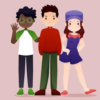 人の図のグループ