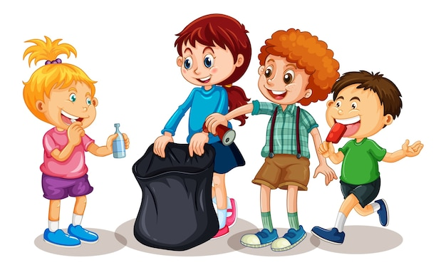 어린이 만화 캐릭터의 그룹