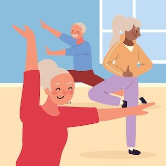 Группа пожилых людей