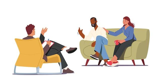 그룹 치료, 심리 치료 회의, 심리 보조