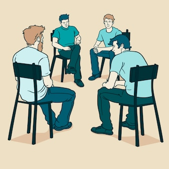 Group therapy with men