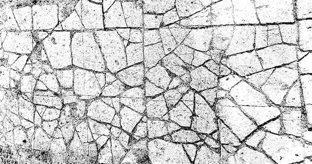 그런 지 배경 흑백입니다. 흑백 텍스처입니다. 균열, 칩, 흠집의 벡터 패턴입니다. 추상 빈티지 표면
