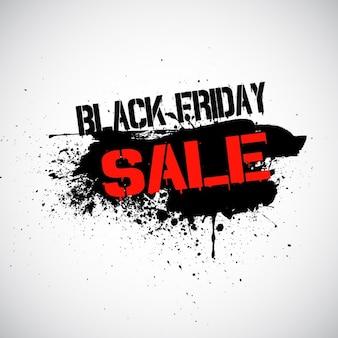 Grunge background for black friday sale
