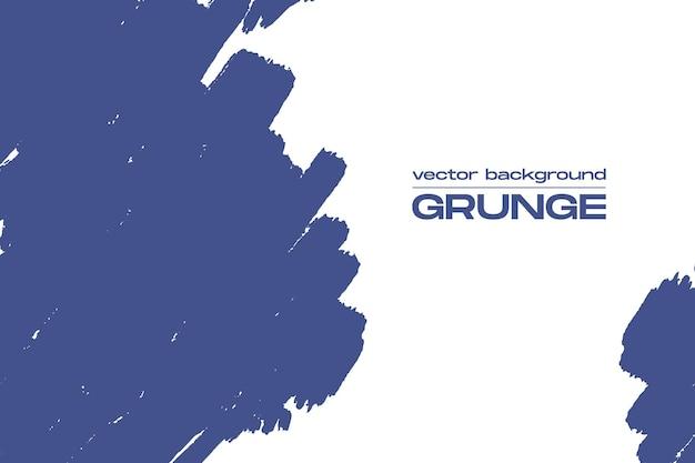 Гранж-фон с синей краской мазки