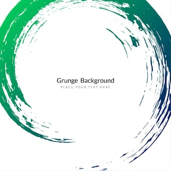 Grunge background with circular shapes