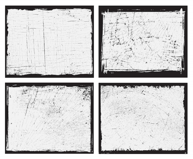 Grunge backgrounds set