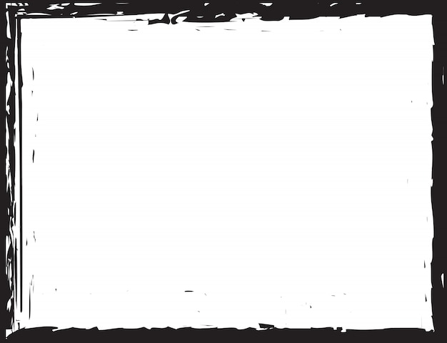 Grunge border frame background
