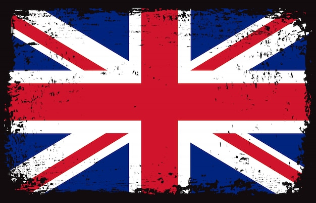 グランジ英国の旗