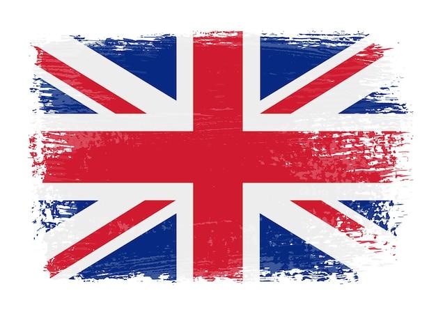 Британский флаг гранж