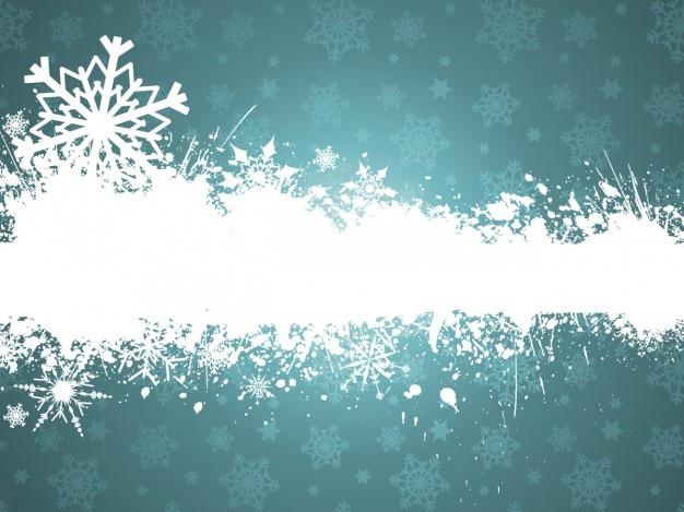 청록색에 그런 지 크리스마스 배경