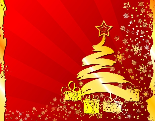 Рождественские гранж-фон со снежинками, элемент дизайна, векторные иллюстрации