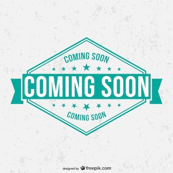 Grunge coming soon label