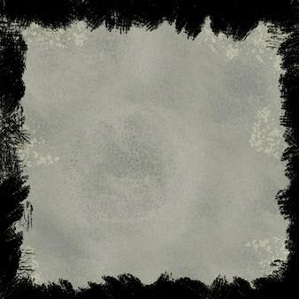 Grunge dark frame background