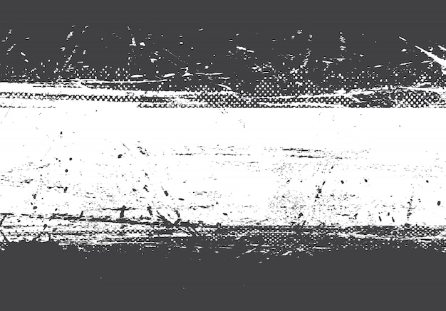 Grunge distressed black and white background