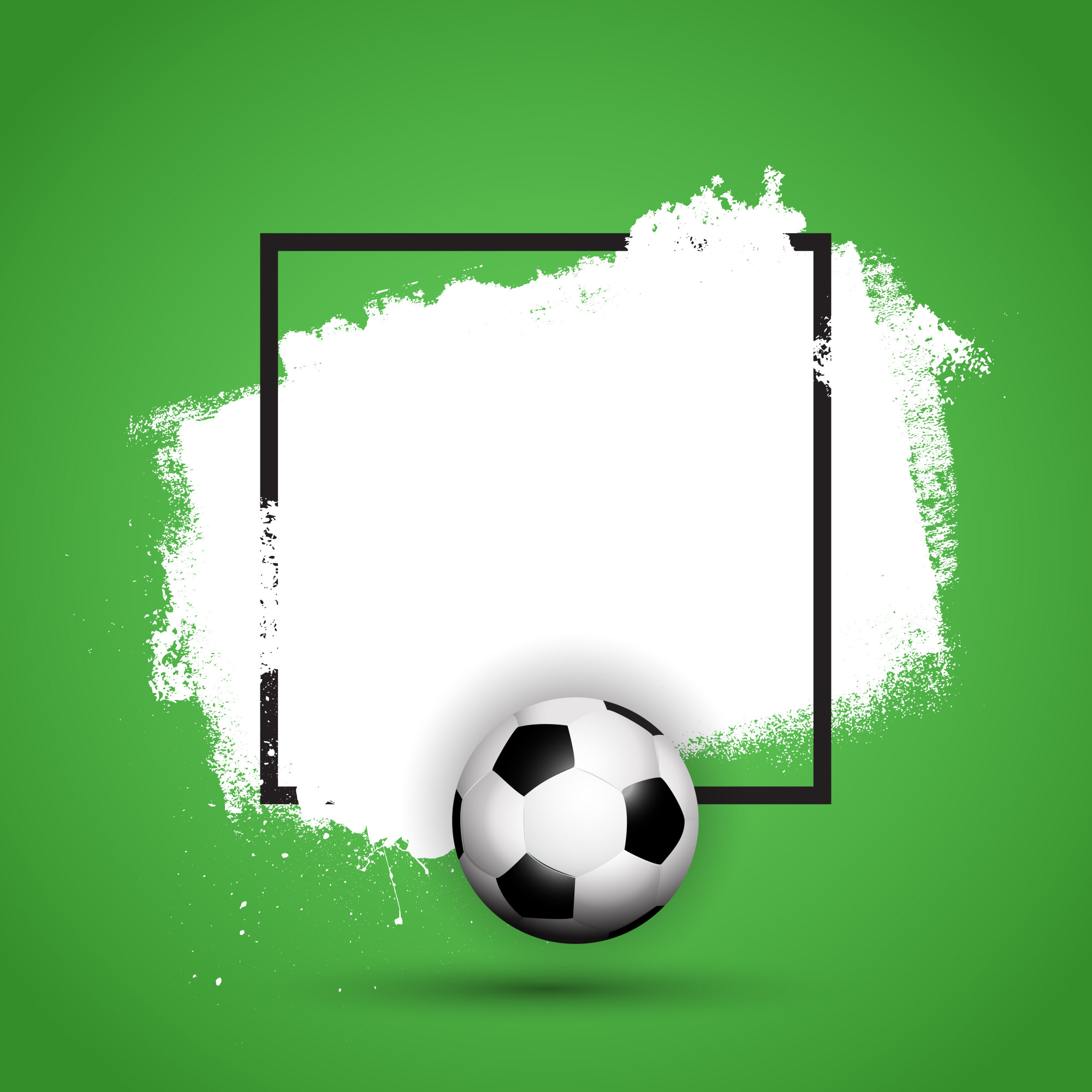 Grunge football / soccer background