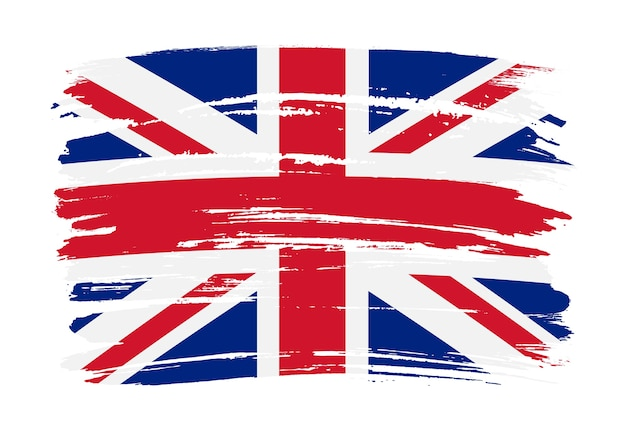 グランジイギリスの旗