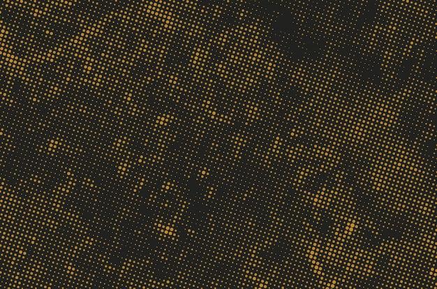 Гранж фон полутоновых точек