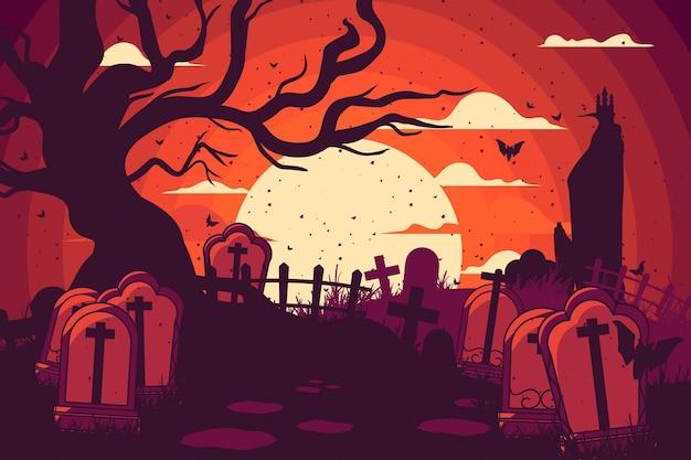 Carta da parati halloween grunge