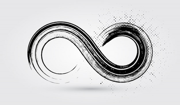 Символ бесконечности гранж