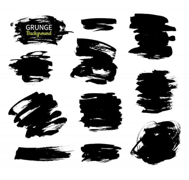 Grunge ink backgrounds