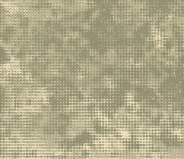 Grunge military background with halftone effect