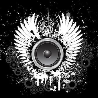 Grunge background musicale