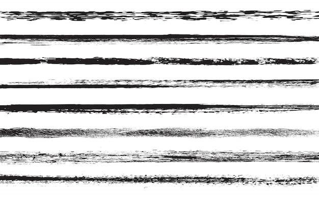 Grunge paint lines