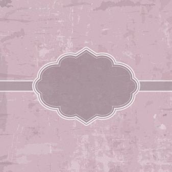 Гранж розовый фон с значком