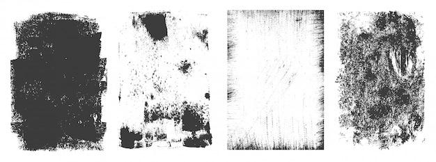 Винтажная коллекция гранж прямоугольных рамок