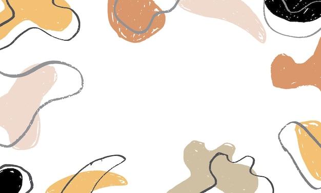 Grunge shape texture background